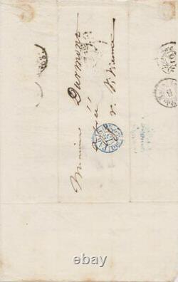 Victor Hugo Signed Autograph Letter To Bernard Durmont
