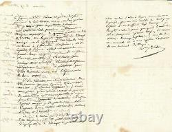 ALGÉRIE, COLONISATION Sylvain Charles VALÉE général lettre autographe signée