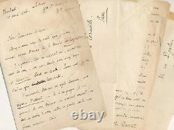Adolphe BOSCHOT Riche correspondance de 32 lettres autographes signées Berlioz