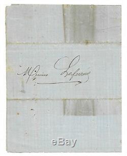Alexandre DUMAS père / Lettre autographe signée / Paris Romantique