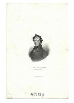Alphonse de LAMARTINE / Lettre autographe signée sur Victor Hugo / Second Empire