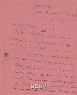 André GIDE / Lettre autographe signée / 1934