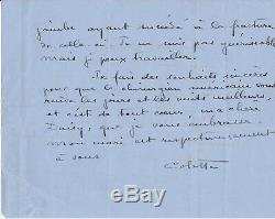 COLETTE Lettre autographe signée