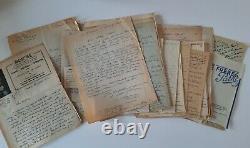 Chanson à éditions GREYVAL plus de 110 lettres autographes signées 1933-1948