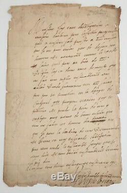 Duc de GUISE, Chef Ligue assassiné / Henri III Rare lettre autographe signée