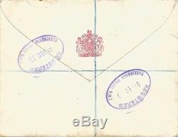 ELIZABETH II Lettre autographe signée. 4 pages. 1956. God save the Queen