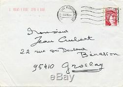 Écrivain Henri Troyat lettre autographe signée s'isole pour écrire 13 mars 1980