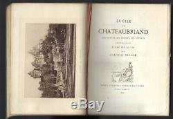Ed. Originale FRANCE Lucile Chateaubriand jointe une Lettre autographe signée