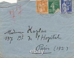 Edmond LACHENAL céramiste peintre lettre autographe signée visite ami