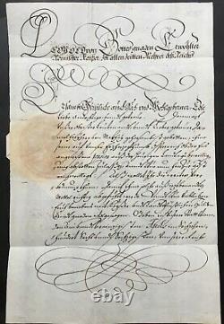 Empereur LEOPOLD I (Saint-Empire) Kaiser HRR- Lettre signée Letter signed-1666