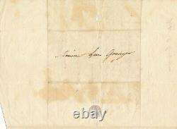Eugène DEVÉRIA Lettre autographe signée le soleil dans son atelier