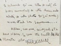François MAURIAC belles Lettre autographe signée (2) + lettre signée