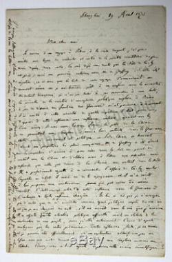 GARNIER Francis Six lettres autographes signées, décembre 18 (-)