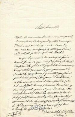 Gabriel LAMÉ mathématicien Lettre autographe signée adressée à Joseph LIOUVILLE