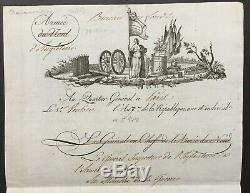 Général de Beurnonville -Intéressant lettre autographe signée au ministre Guerre