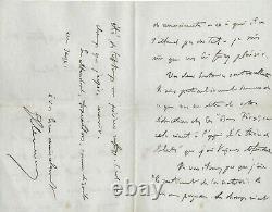 Georges CLEMENCEAU Lettre autographe signée Affaire DREYFUS