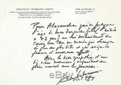 Georges SIMENON / Lettre autographe signée / La jeunesse et le monde de demain