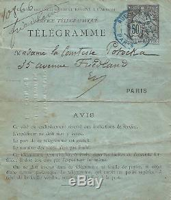 Guy de MAUPASSANT / Lettre autographe signée