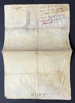 HENRI III Roi de France Document / lettre signée Conseil privé du Roi 1576