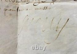 HENRI IV Roi de France Document / lettre signée Sur Connétable et Guise 1598