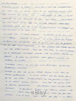 Hans BELLMER Longue lettre autographe signée Jeux de la poupée