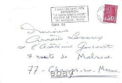Henri TROYAT, Ecrivain, 1974, Lettre Autographe Signée à A. LANOUX