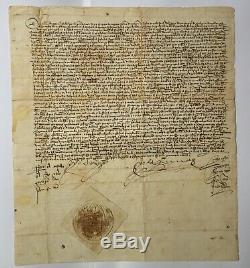 ISABELLA I & FERDINAND II Catholic Kings Lettre signée Charter signed 1479
