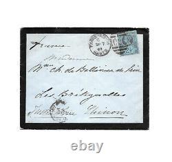 Impératrice EUGENIE de Montijo / Lettre autographe signée / Mariage / Exil