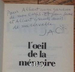 JACQUES-HENRI LARTIGUE mémoires 3 vol. Envois dédicaces LETTRE AUTOGRAPHE SIGNÉE