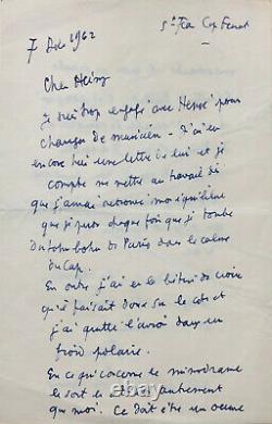 Jean COCTEAU Lettre autographe signée