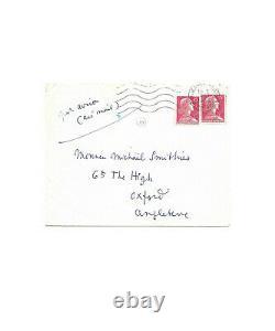 Jean COCTEAU / Lettre autographe signée 2 fois / Nietzsche / Mallarmé / Oxford
