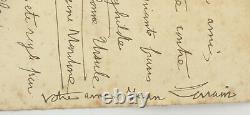 Jean Lorrain lettre autographe signée vers 1899