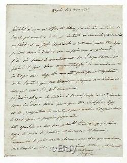 Joseph Bonaparte / Lettre Autographe Signée (1806) / Naples / Dombrowski