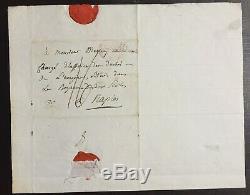 Joseph FOUCHE lettre autographe signée autograph letter signed Duc d'Otrante