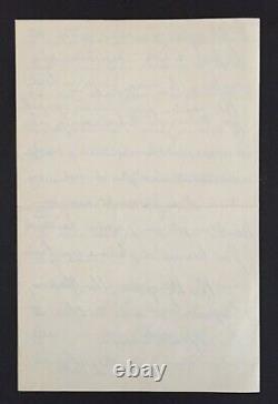 LATTRE DE TASSIGNY Superbe lettre autographe signée sur la France, Guerre 1940