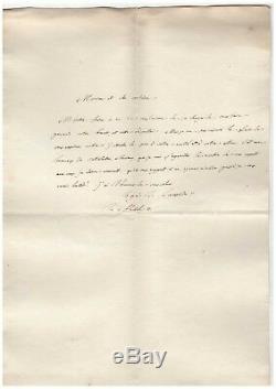 Lacépède / Lettre Autographe Signée (1805) / Décoration Et Brevet