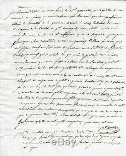 Le Maréchal Jean LANNES Lettre autographe signée