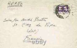 Leonora CARRINGTON Lettre autographe signée à André Breton. EROS