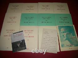Les Cahiers Des Amis De Pierre Benoit 1 A 11 + Lettre Autographe Signée + A Voir