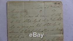 Lettre signée DUC DE WELLINGTON (VAINQUEUR NAPOLEON) à WATERLOO à A. PRUSSE