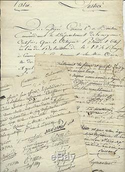 Louis François Jean Chabot (1757-1837) Général Français 3 Lettres Signées F432