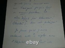 Louis-ferdinand Celine Belle Lettre Autographe Signee A Son Avocat 2 Pages 1950