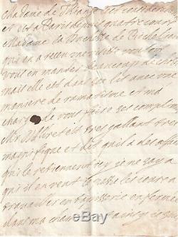 MAINTENON lettre autographe signée LOUIS XIV