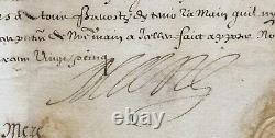 MARIE DE MEDICIS Reine de France document signé Lettre de sauvegarde 1625