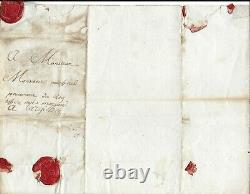MIRABEAU Lettre autographe signée Révolution française