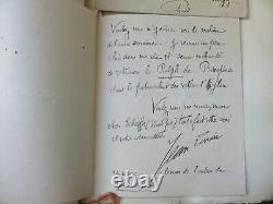 Ma petite Ville Jean Lorrain -1898 Reliure signée Saulnier Lettre autographe