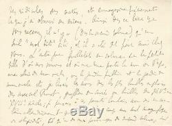 Marcel PROUST Lettre autographe signée. La Recherche du temps perdu. 1913