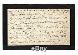 Marcel Proust / Lettre Autographe Signée (1904) / Louisa De Mornand / Albufera