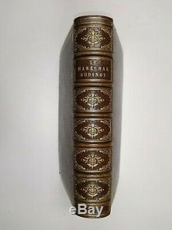 Maréchal Oudinot Empire Napoléon Reliure Maroquin Signée 1894 Lettre Autographe