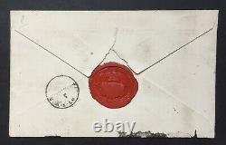 Marie-Amélie Reine des Français Belle lettre autographe signée à fils 1847, 4p
